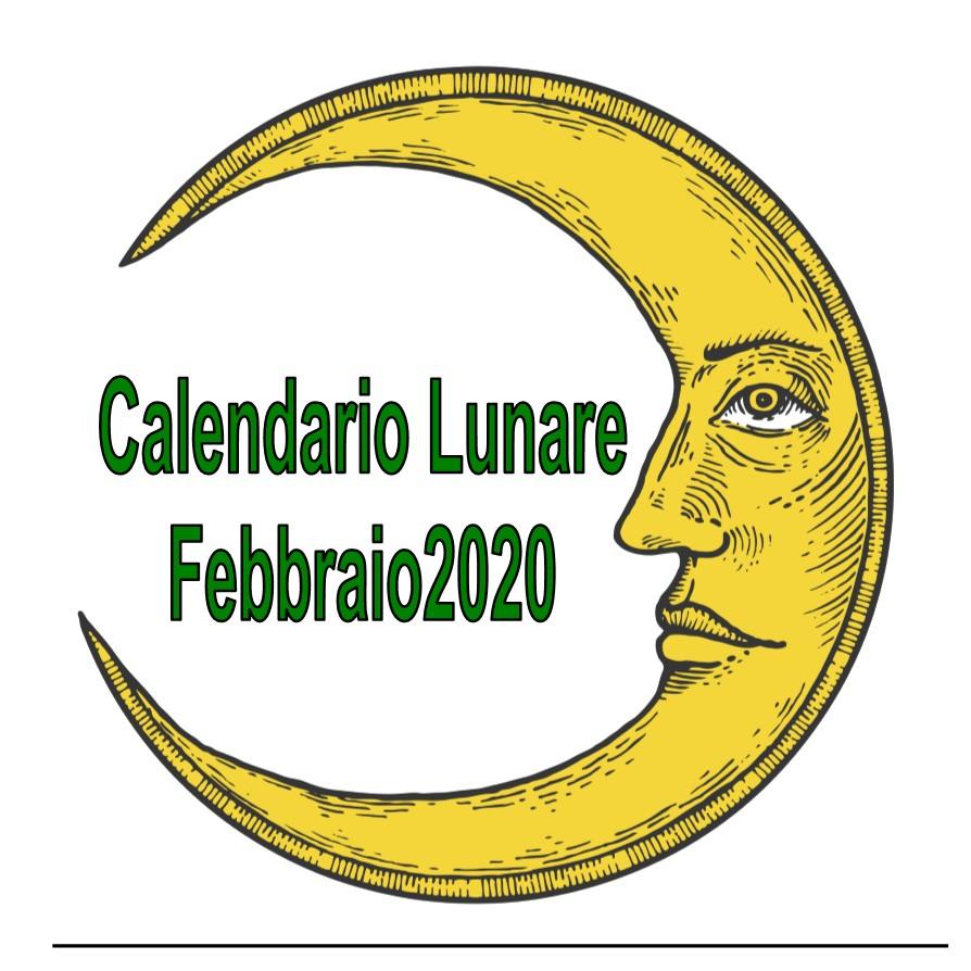 Calendario Lunare di Febbraio - La Margherita